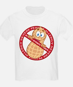 Severe Peanut Allergy T-Shirt