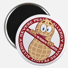 Severe Peanut Allergy Magnet