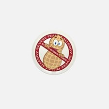 Severe Peanut Allergy Mini Button