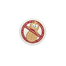Severe Peanut Allergy Mini Button (10 pack)