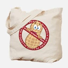 Severe Peanut Allergy Tote Bag