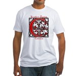 The Scarlet Letter Fitted T-Shirt