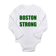 BOSTON STRONG - green Body Suit