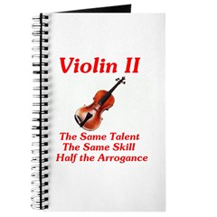 Violin II Journal