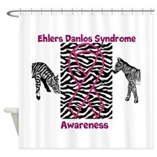 Ehlers Danlos Syndrome Awareness Shower Curtain