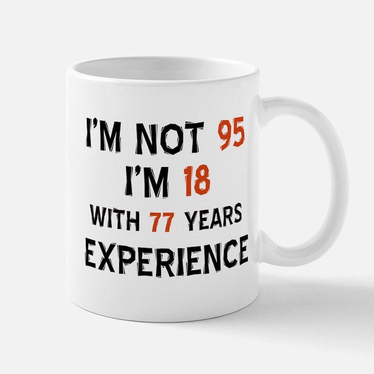 95 year old designs Mug