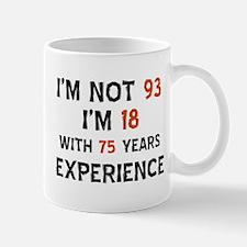 93 year old designs Mug