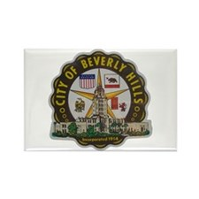 Beverly Hills California Rectangle Magnet