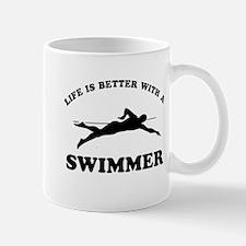 Swimmer Designs Mug