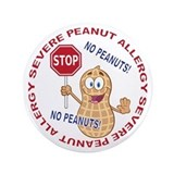 Peanut allergy Buttons