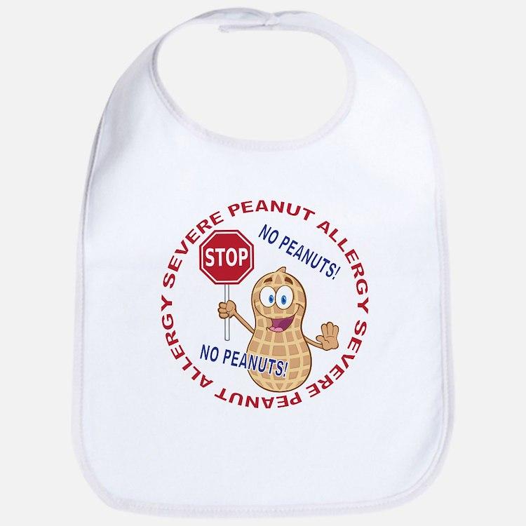 Severe Peanut Allergy Bib