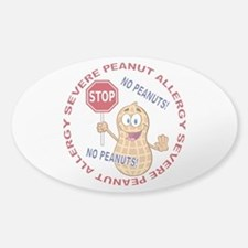 Severe Peanut Allergy Decal