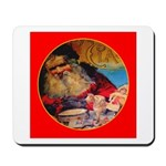 Season's Greetings Santa Mousepad