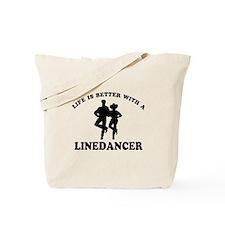 LineDancer Designs Tote Bag