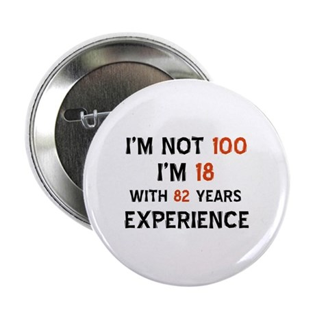 "100 year old designs 2.25"" Button (100 pack)"