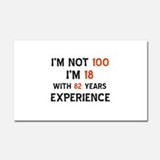 100 year old designs Car Magnet 20 x 12