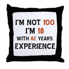 100 year old designs Throw Pillow