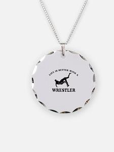 Wrestler Designs Necklace