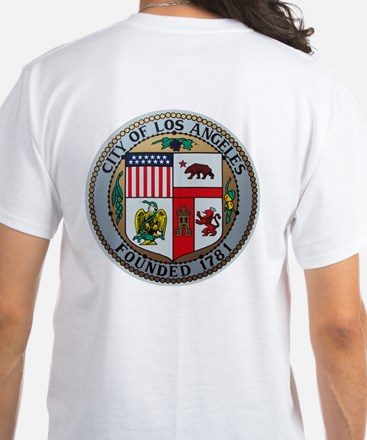 City of Los Angeles White T-Shirt