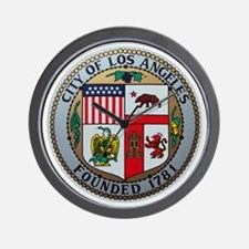 City of Los Angeles Wall Clock
