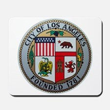 City of Los Angeles Mousepad