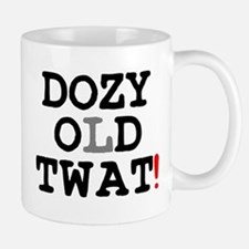 DOZY OLD TWAT! Small Mug