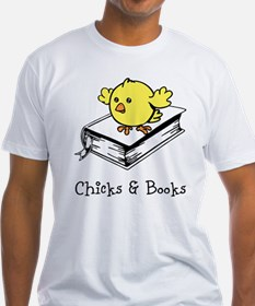Chicks And Books T-Shirt