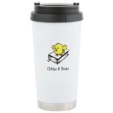 Chicks And Books Travel Mug