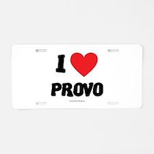 I Love Provo - LDS Clothing - LDS T-Shirts Aluminu