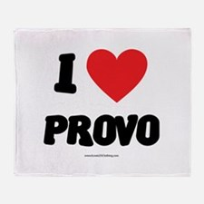 I Love Provo - LDS Clothing - LDS T-Shirts Throw B