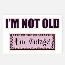 I'm Not Old I'm Vintage Postcards (Package of 8)