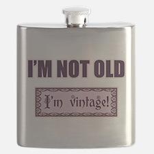 I'm Not Old I'm Vintage Flask