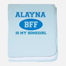 Alayna BFF designs baby blanket