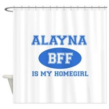 Alayna BFF designs Shower Curtain