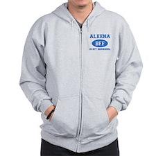Aleena BFF designs Zipped Hoody