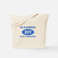 Alejandra BFF designs Tote Bag