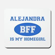 Alejandra BFF designs Mousepad