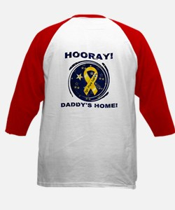 Welcome Home - Daddy Kids Baseball Jersey