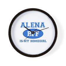 Alena BFF designs Wall Clock