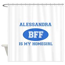 Alessandra BFF designs Shower Curtain