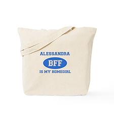 Alessandra BFF designs Tote Bag
