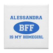 Alessandra BFF designs Tile Coaster