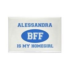 Alessandra BFF designs Rectangle Magnet