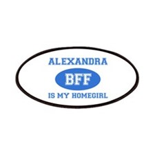 Alexandra BFF designs Patches