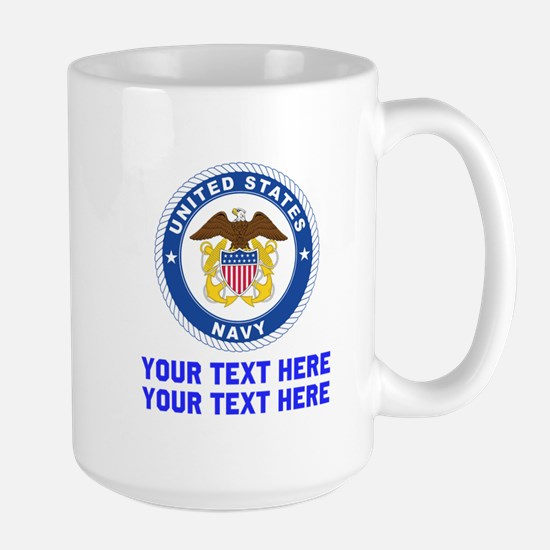 US Navy Sign Personalized Mug