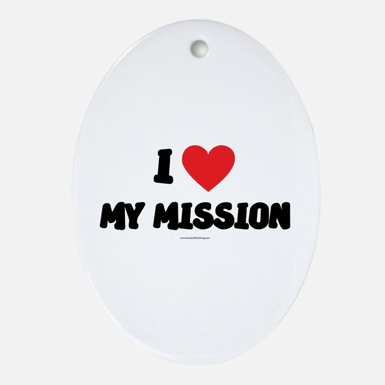 I Love My Mission - LDS Clothing - LDS T-Shirts Or