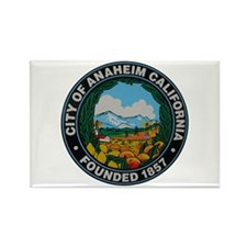 City of Anaheim California City Seal Magnets