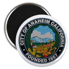 Cute Anaheim city Magnet