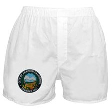 Cute California city Boxer Shorts