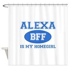 Alexa BFF designs Shower Curtain
